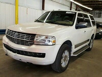 2007 Lincoln Navigator Ultimate 2007 Lincoln Navigator UltimateEz Fix Rebuildable Salvage Repairable Save