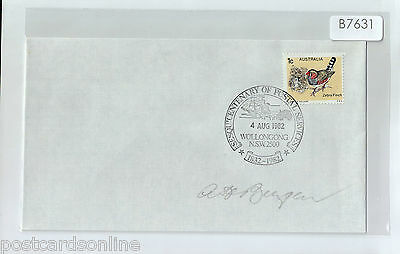 B7631cgtA5 1982 Australia Centenary of Postal Services Wollongong postmark cover