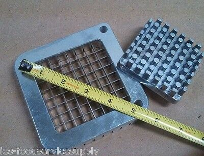 "REPLACEMENT BLADE & PUSHER SET ONLY For 1/4"" Cut French Fry Cutter Import Models"