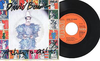 "DAVID BOWIE - Ashes to ashes - Move on - 7"" 45gg GER MINT 1980"