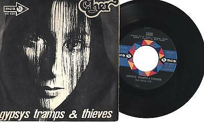 """CHER - Gypsys tramps & thieves - He'll never know - 7"""" ITA MINT 1971"""