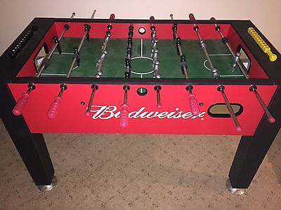 Budweiser Foosball Table