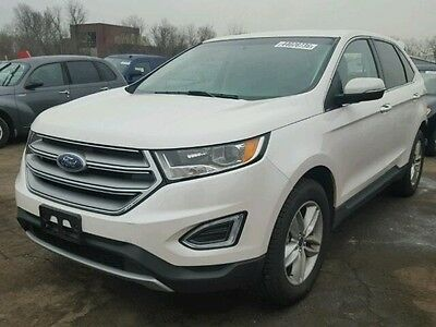 2016 Ford Edge SEL 2016 Ford Edge SEL Rebuildable Repairable Salvage