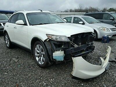 2005 Infiniti FX Base Sport Utility 4-Door 2005 Infiniti FX35 Ez Fix Rebuildable Repairable Salvage