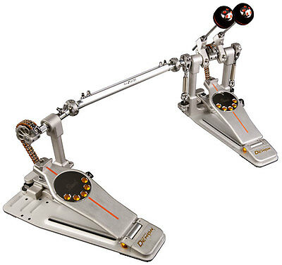 Pearl P-3002C Demon Chain Twin Eliminator Bass Drum Pedal - Demoed Once