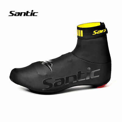 Santic Cycling Shoe Cover Warm Dustproof Cover Protector Overshoes Black