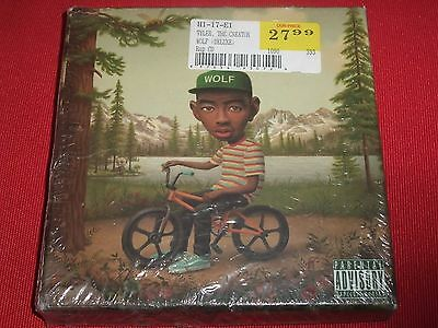 TYLER THE CREATOR Wolf 2013 Limited Deluxe Edition CD + DVD Box USA F2313