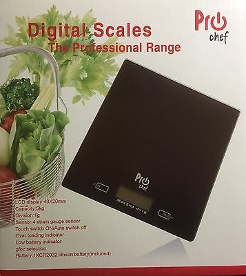 ProChef Digital 5kg Kitchen LCD Electronic Household Food Cooking Scales
