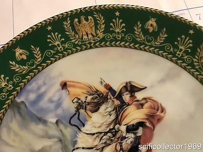 "Napoleon ""Bonaparte traversantles Alpes""Limited Edition Collectible Plate"