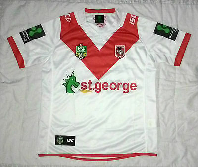 2017 NRL ST GEORGE DRAGONS Home Jersey (Adult Large) – New Rugby League