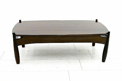"Sofa Table ""Mole"" By Sergio Rodrigues, Brazil 1960`s"