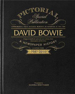 Personalised David Bowie Pictorial Edition Newspaper Book - Fantastic Gift