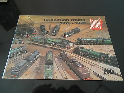 Vintage Catalogue Jouef Ho 1978-1979