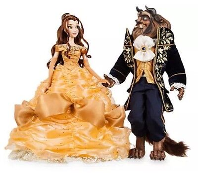 Disney Beauty And The Beast Platinum Doll Limited Edition
