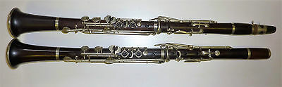 Antique set of clarinets S.A. Chappell New Bond St. London E. Albert Brussels