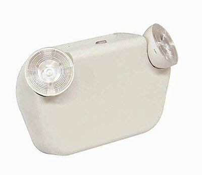 LED Two Head Decorative Emergency Light with Battery Back-up White