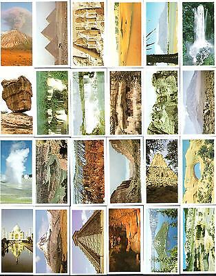1984,brooke Bond,features Of The World,full Set Of 50 Cards
