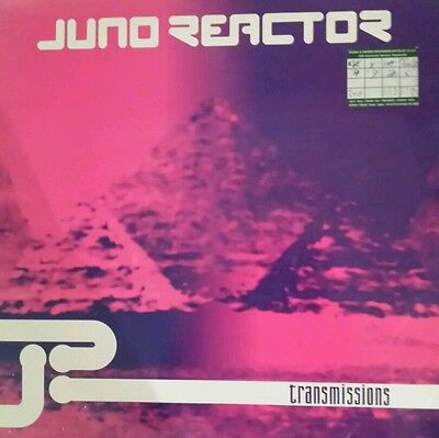 """@juno Reactor Transmissions Ep 2X12"""" Early Trance Excellent Condition@"""