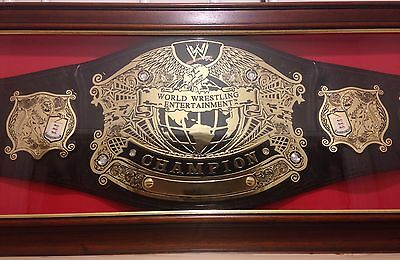 WWE Undisputed Championship Belt Replica Title Framed Version 2 Adult Metal WWF