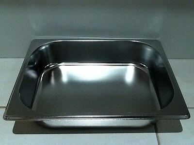Brand New Stainless Steel 1/2 Food Tray