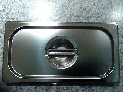 Brand New Stainless Steel 1/3 Tray Lid