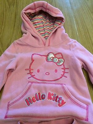 Baby girls pink fleecy Hello Kitty 12-18 months