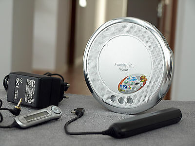 VERY NICE Panasonic SL-CT800 Portable CD MP3 WMA Player with Accessories