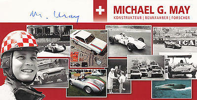 MICHAEL MAY, handsigned autograph card