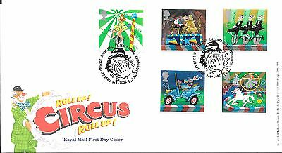 "2002 Unaddressed Circus "" Bureau"" Hand Stamp Priced To Sell"