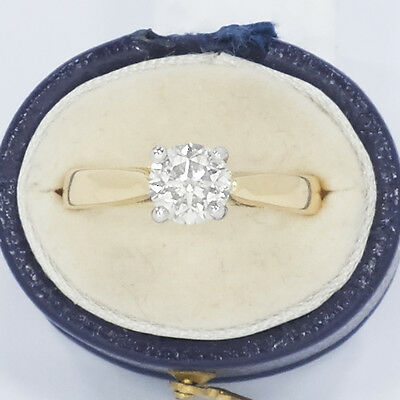 ladies huge diamond solitaire ring, 1.10ct in  18ct gold