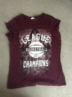 Ladies New Look T Shirt size 12