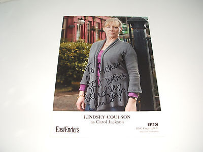 Lindsey Coulson Eastenders Tv Autograph