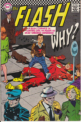 THE FLASH #171 [FN+] 1967 (DR LIGHT) Scarce Silver DC