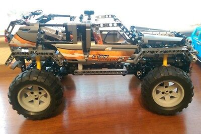 LEGO Technic 4X4 Off-Roader 2 8297 with power functions rare
