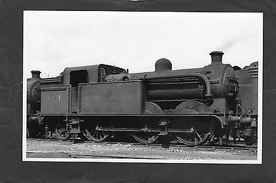 LNER loco No.E9431 at HORNSEY SHED in 1949-Proper R/P-P/C glossy photo
