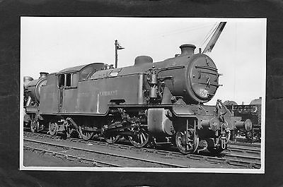 LNER loco No.67706 at YORK SHED in 1950-Proper R/P-P/C glossy photo