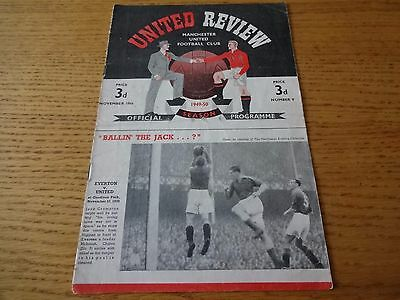 1949/50  -  Manchester United  v  Middlesbrough