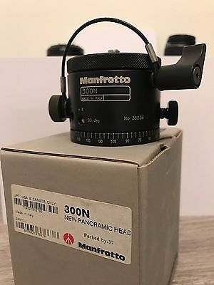 Manfroto professonial panoramic head 300n