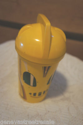 The Rocketeer Movie Cup Promotional Advertisement 1991 PIZZA HUT COLLECTIBLE