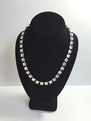 39ss Empty Cup Chain 8mm 33 Cup Necklace, Sterling Silver Plated for Swarovski 1
