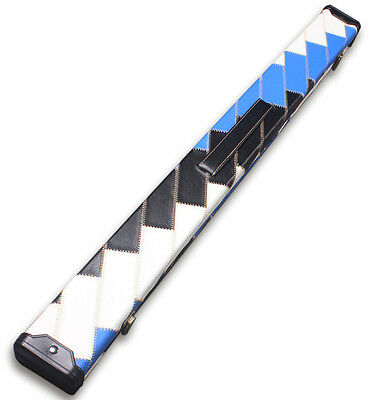 Speical Offer - New Patchwor 2 Pc 1/2 Snooker Cue Case
