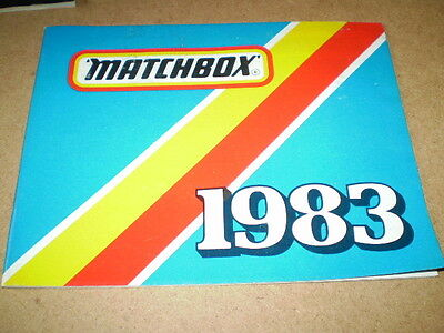 Matchbox Toy Catalogue 1983 International Edition Excellent Vn Mint Condition