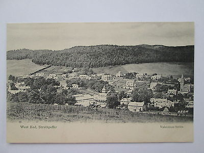 Old Postcard - Strathpeffer , Ross & Cromarty , Highlands , Scotland .