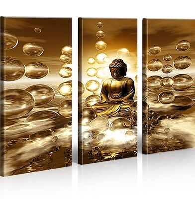 buddha v2 china asien 3 bilder bild auf leinwand wandbild poster eur 39 90 picclick de. Black Bedroom Furniture Sets. Home Design Ideas