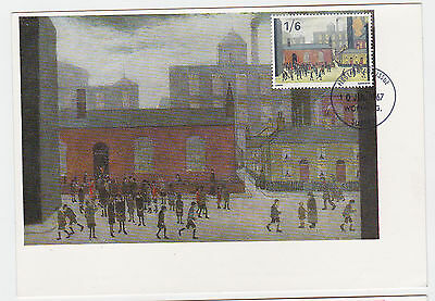 Ref. 1660 Set Of 3  Famous Paintings Maxi Cards 1967