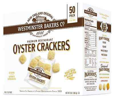 Westminster Bakers Company Premium Restaurant Oyster Crackers, 25 Ounce (50 1/2