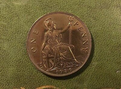 George V Old Penny - 1936