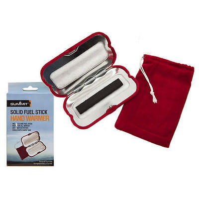 Summit Solid Fuel Charcoal Stick Hand Warmer with Case
