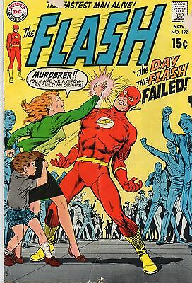 Flash #192 (DC 1969 1st series) 47 years old. FN - Silver Age.