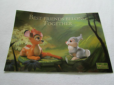 WDCC Bambi Promocard 2004